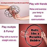 BIBOYELF Spinner Ring Arm Slinky Toy - Spinning