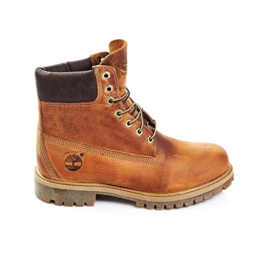 Timberland Heritage 6 quot  Premium Waterproof (Wide Fit) Stivali Classici  Uomo e6179a6dbef