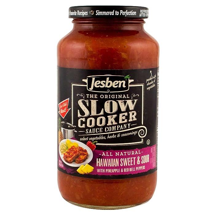 Jesben Slow Cooker Sauce Hawaiian Sweet & Sour 24 oz