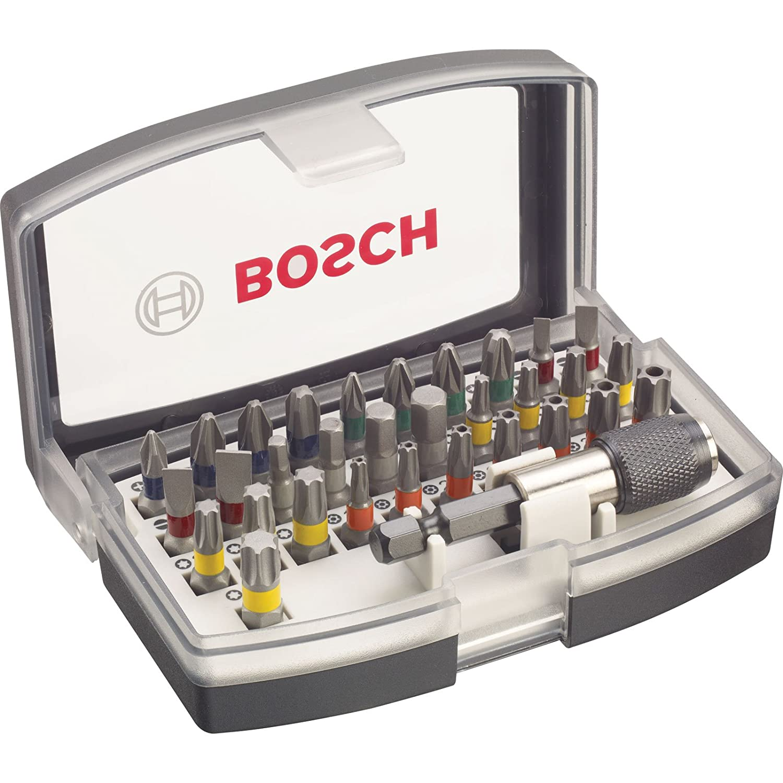 Advanced Bosch xs-prospec 32/St/ück pro Schraubendreher Bit-Set mit Farbcodierung Phillips//Pozi//Sechskant//Torx Multi Set / /