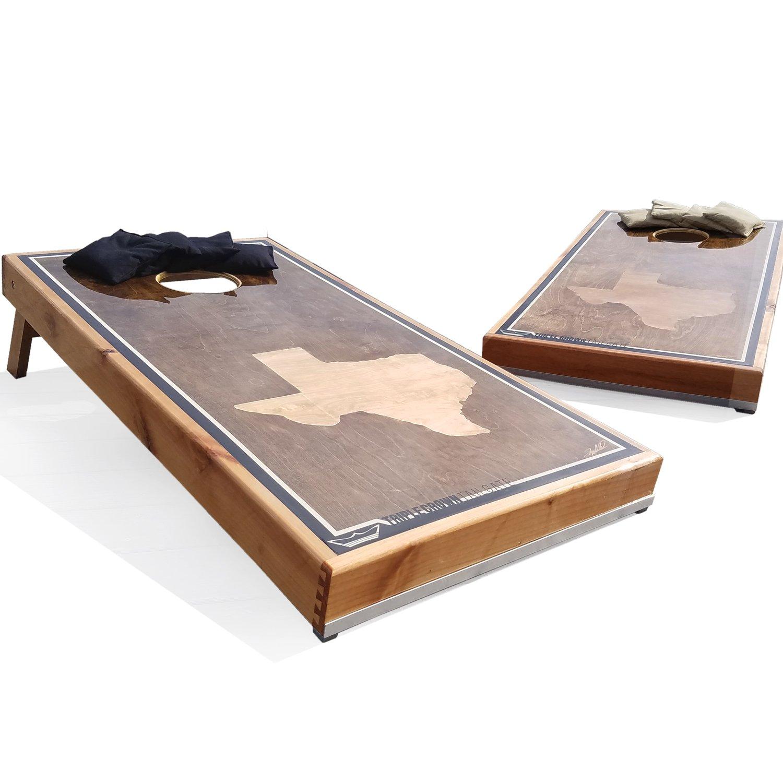 Texas Cornholeボード防水エスプレッソStained Parent B0796HXYC2 Parent B0796HXYC2 Espresso Stain Stain, 眠りのひろば【ふとんの江崎】:b5e377e2 --- krianta.ru