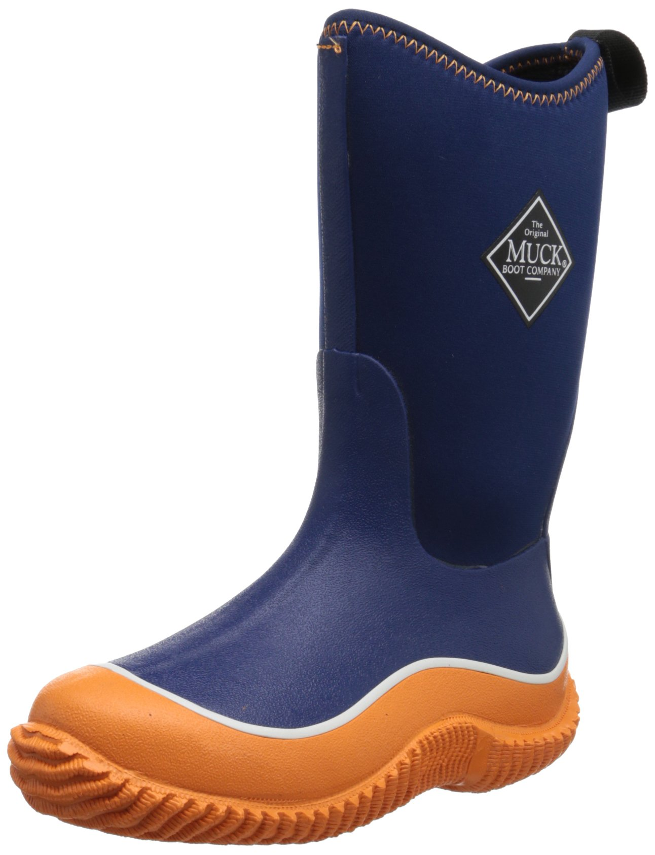 MuckBoots Hale Boot,Orange/Navy,11 M US Little Kid