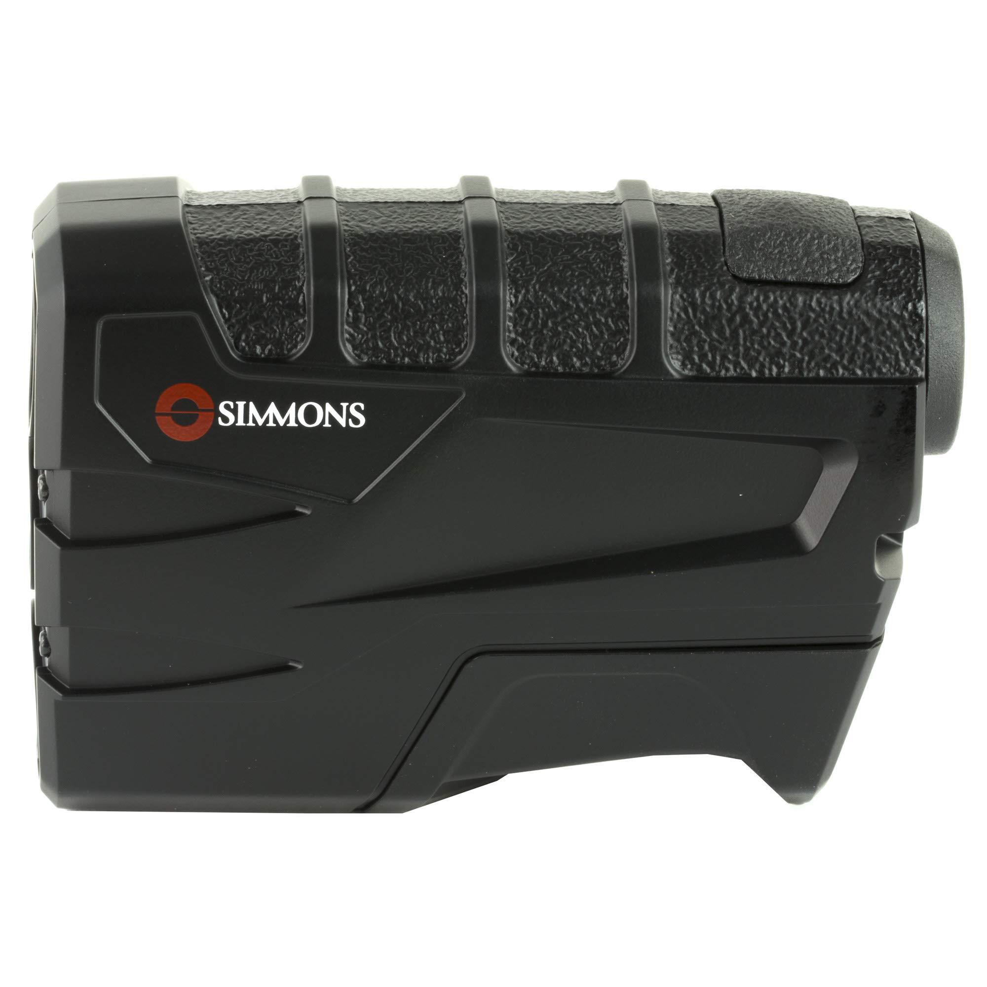 Simmons Brandnameinternalv 600, Rangefinder, V 600, 4X Power, 20 Objective, Single Button, Black Finish, Box 5L