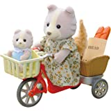 Sylvanian Families Cycling With Mother