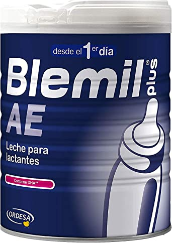 Blemil Plus – Leche de Inicio,1 AE, Efecto Anti-Estreñimiento, 800 gr