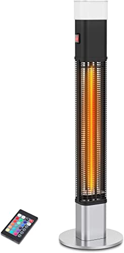 1500W Electric Standing Patio Heater