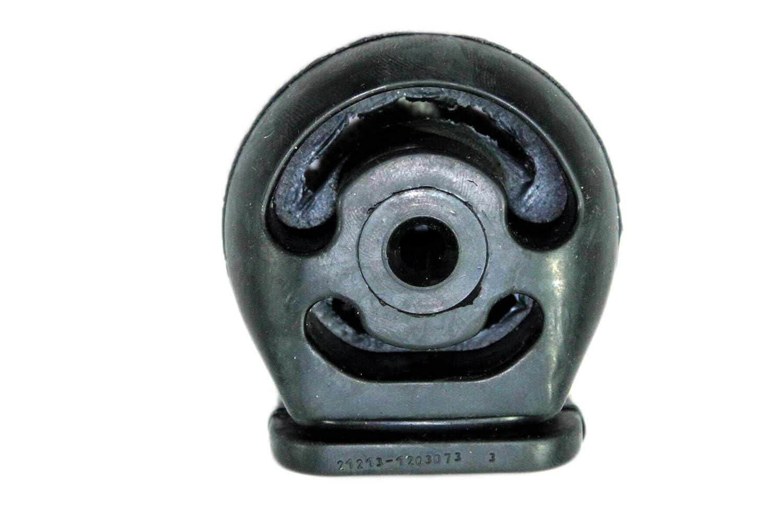Niva 21213 Endschalld/ämpfer mit Schelle M8 48mm Halter//Auspuffgummi