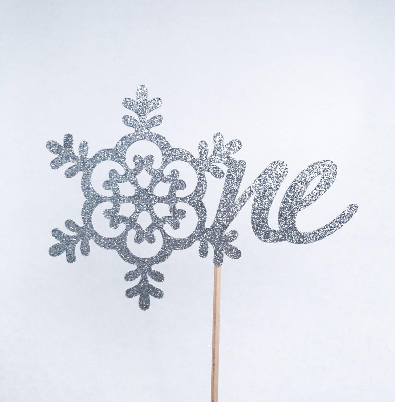 Winter 1st Birthday Atelier Elegance Winter Onederland Cake Topper 1st Birthday Cake Topper