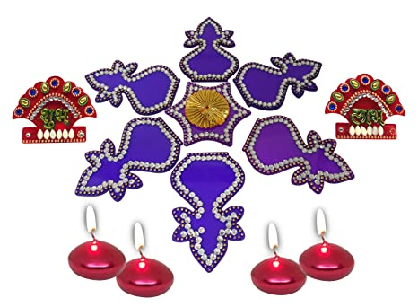 f7e0b9d47df Buy Saugat Traders Diwali Decoration Item - Decorative Acrylic Rangoli