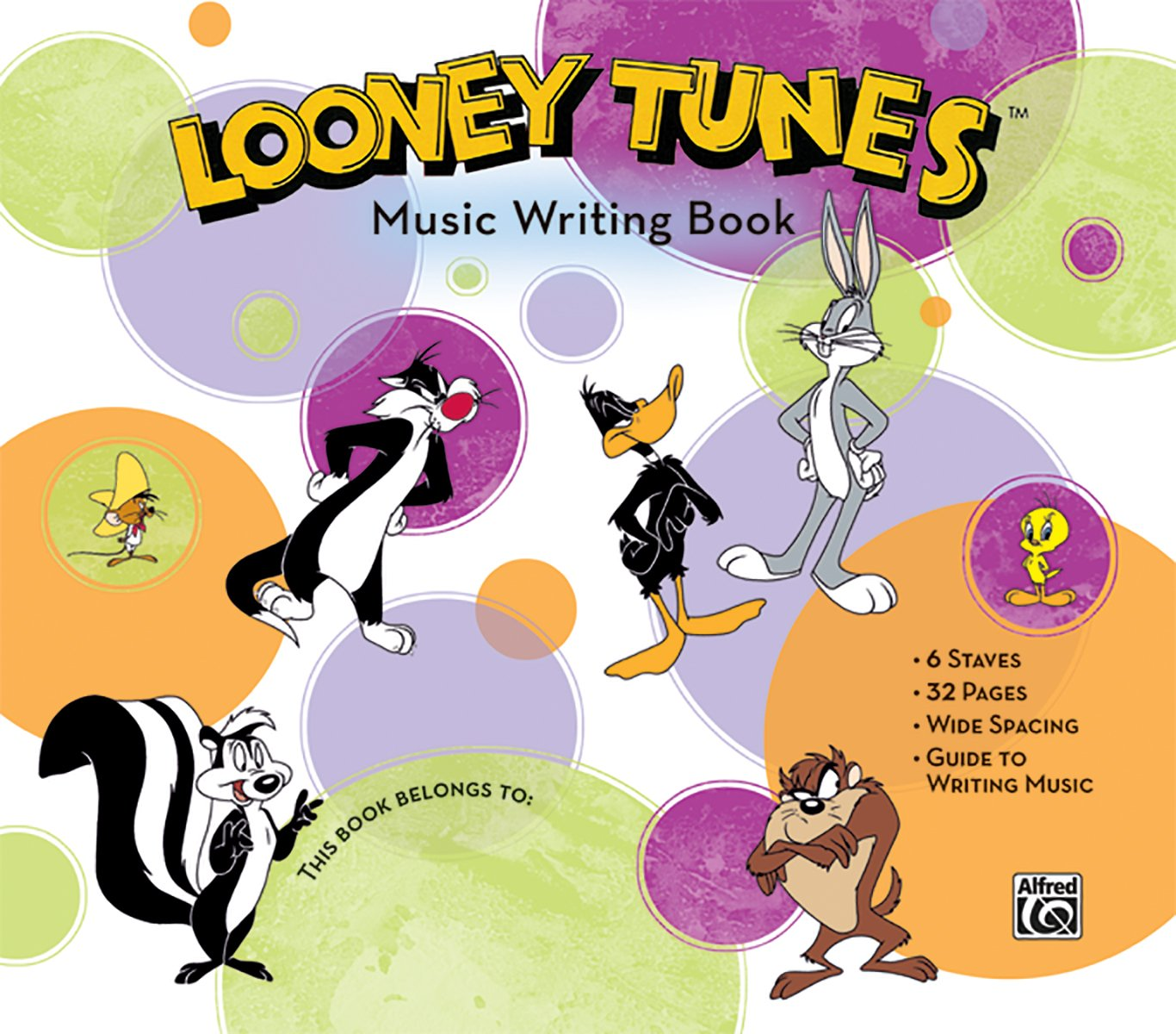 Download Looney Tunes Music Writing Book pdf epub