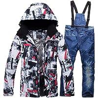 Men's Ski Jacket Waterproof Mountain Snow Snowboard Jacket Winter Outdoor Windproof Snowsuit