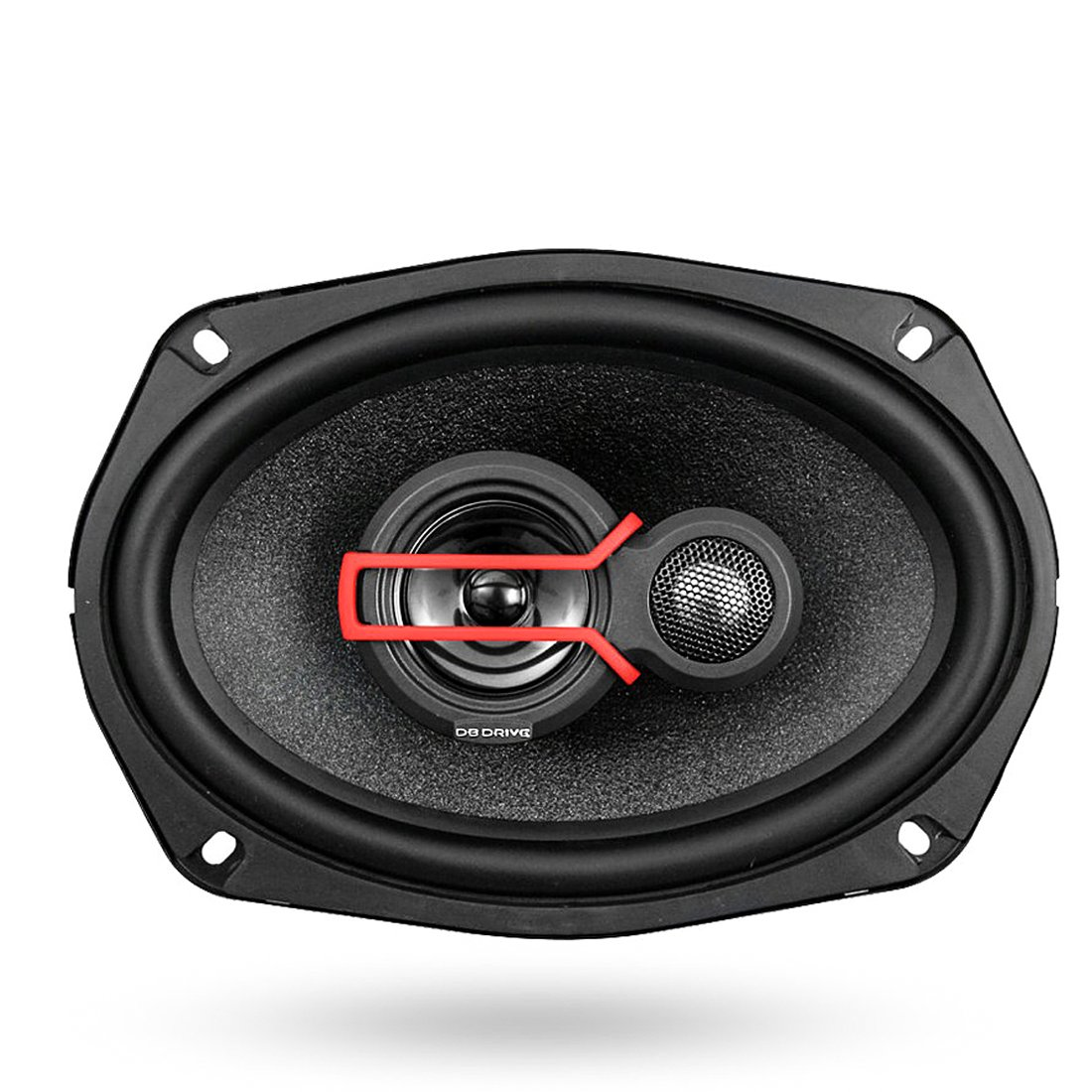 DB Drive Okur Series 500W 6'' x 9'' 3-Way Stereo High Powered Car Audio Speakers