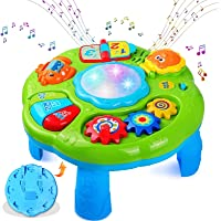 HOMOFY Baby Toys Musical Learning Table 18 Months Up- Early Education Activity Center Multiple Modes Game Kids Toddler…