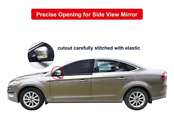 Amazon Com Bayan Car Front Side Window Sun Shade Upf40 Cut 99