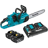 "Makita XCU03PT 18V X2 (36V) LXT Lithium-Ion Brushless Cordless 14"" Chain Saw Kit (5.0Ah)"