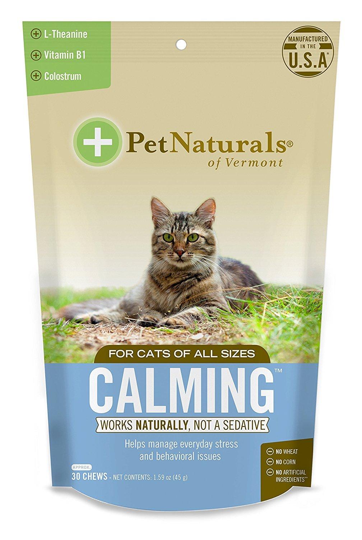 Pet Naturals Natural Pet Calming Supplements for Cats (2 Pack)