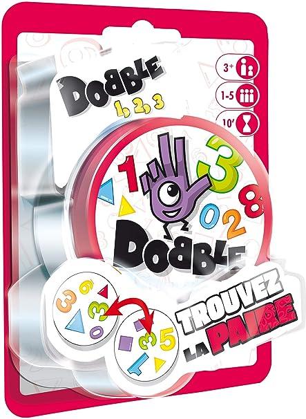 Amazon.com: Asmodée DOCF02FR Dobble 123 Mood Game in Blister ...