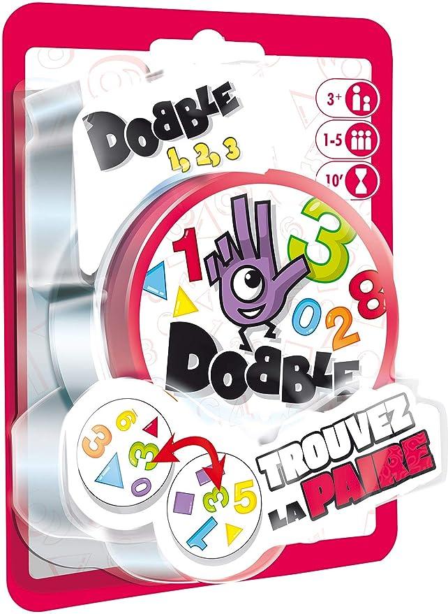Asmodée - Dobble 123 Blister, docf02fr, Juego de salón ...
