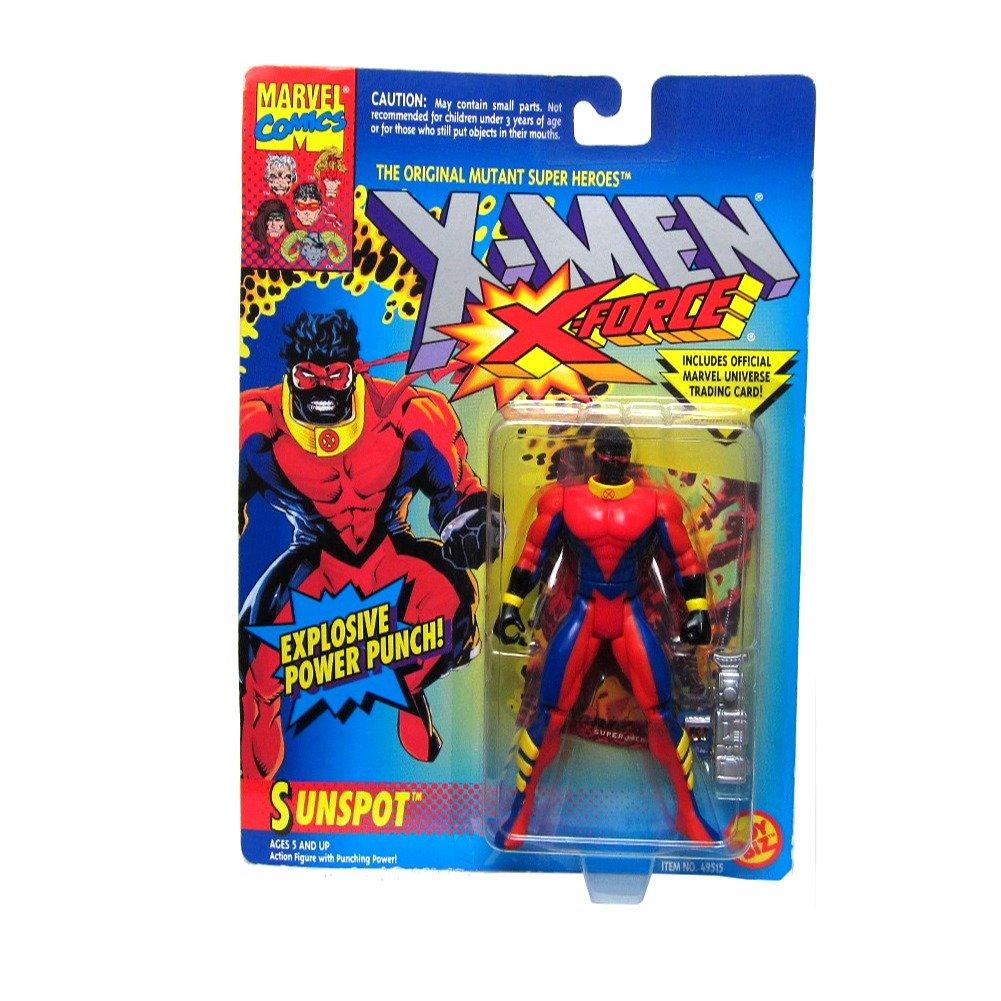 X Men X-Force Sunspot Figure with Explosive Power Punch