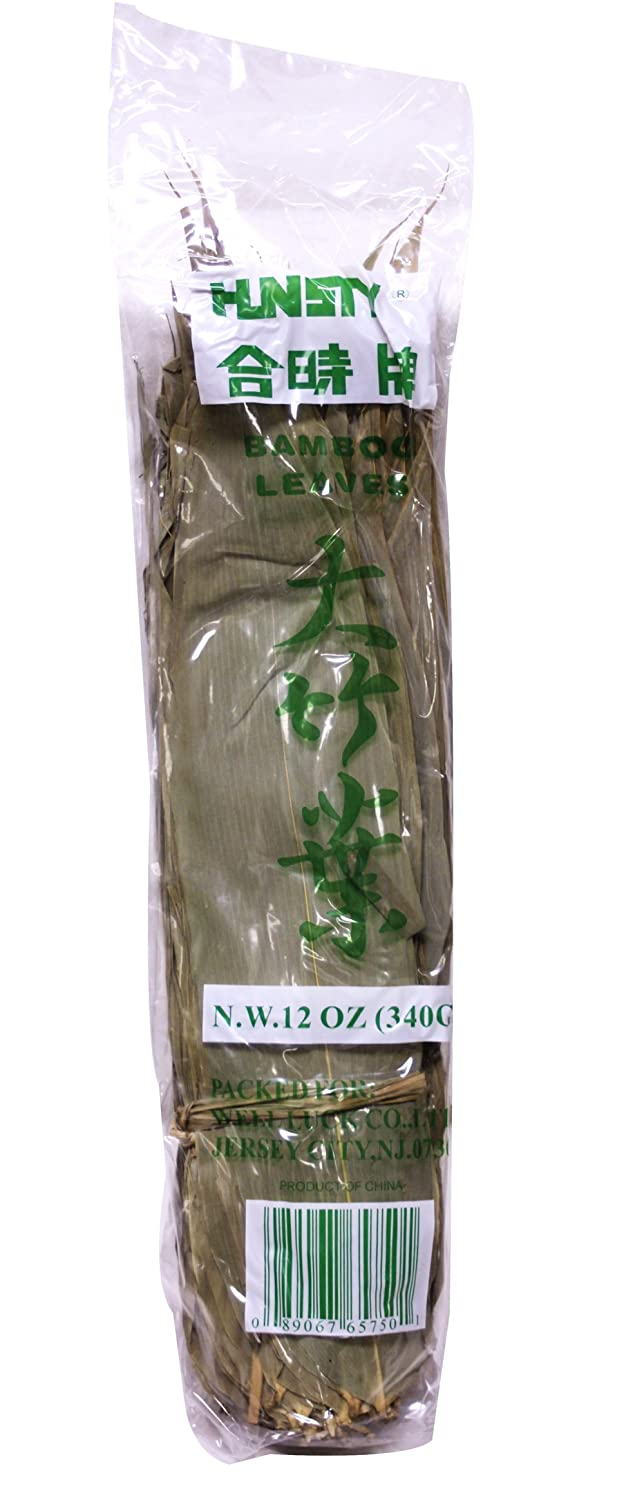 ?? Natural Wild Dried Bamboo Leaves Whole for Making Zongzi 12 oz
