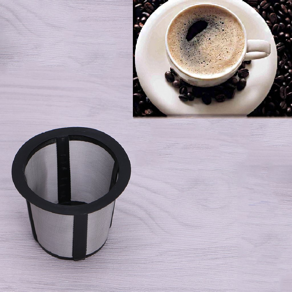 MOMU Reusable Replacemen Coffee Filter Baskets K Cup Style Mesh Infuser Maker tool