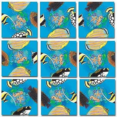 B.Dazzle Scramble Squares: Tropical Fish: Toys & Games