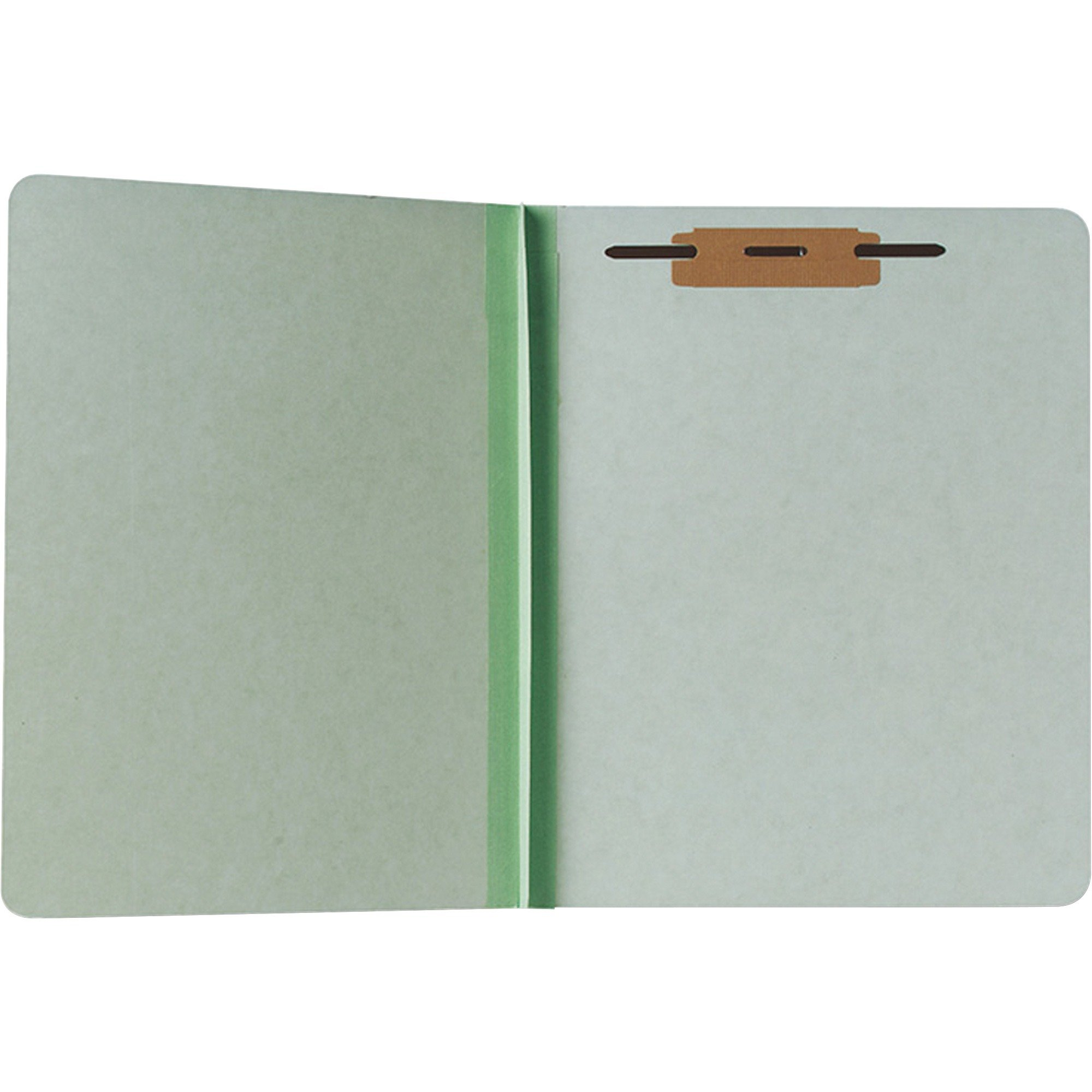 NSN9268981 Folder,1-1/2'' Fastener(No Compressor),Letter-Size,100/BX,GN