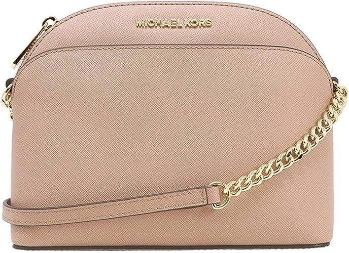 Michael Kors Emmy Leather Chain Cross Body Bag Small Handbag