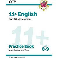 New 11+ GL English Practice Book & Assessment Tests - Ages 8-9 (with Online Edition)