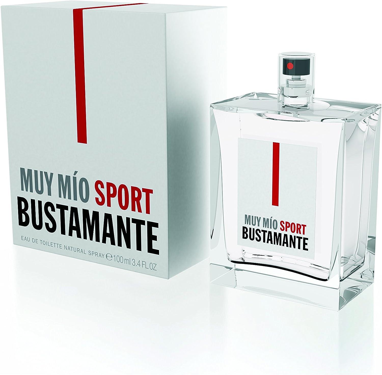 BUSTAMANTE Muy Mio Sport Agua de Colonia, 100 ml: Amazon.es: Belleza