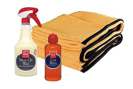 Quick Car Wash >> Amazon Com Griot S Garage Quick Car Wash Spray On Wax
