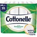 96 Double Rolls of Cottonelle Ultra GentleCare Toilet Paper