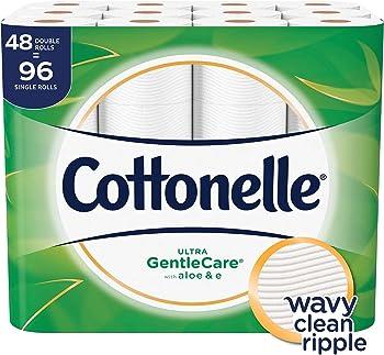 Cottonelle Ultra GentleCare Toilet Paper (48 Double Rolls)