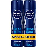 NIVEA, MEN, Deodorant, Fresh Active, Spray