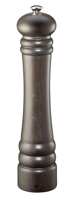 Zassenhaus from Kuchenprofi Berlin 11.8-Inch Dark Stained Beech Pepper Mill M020168