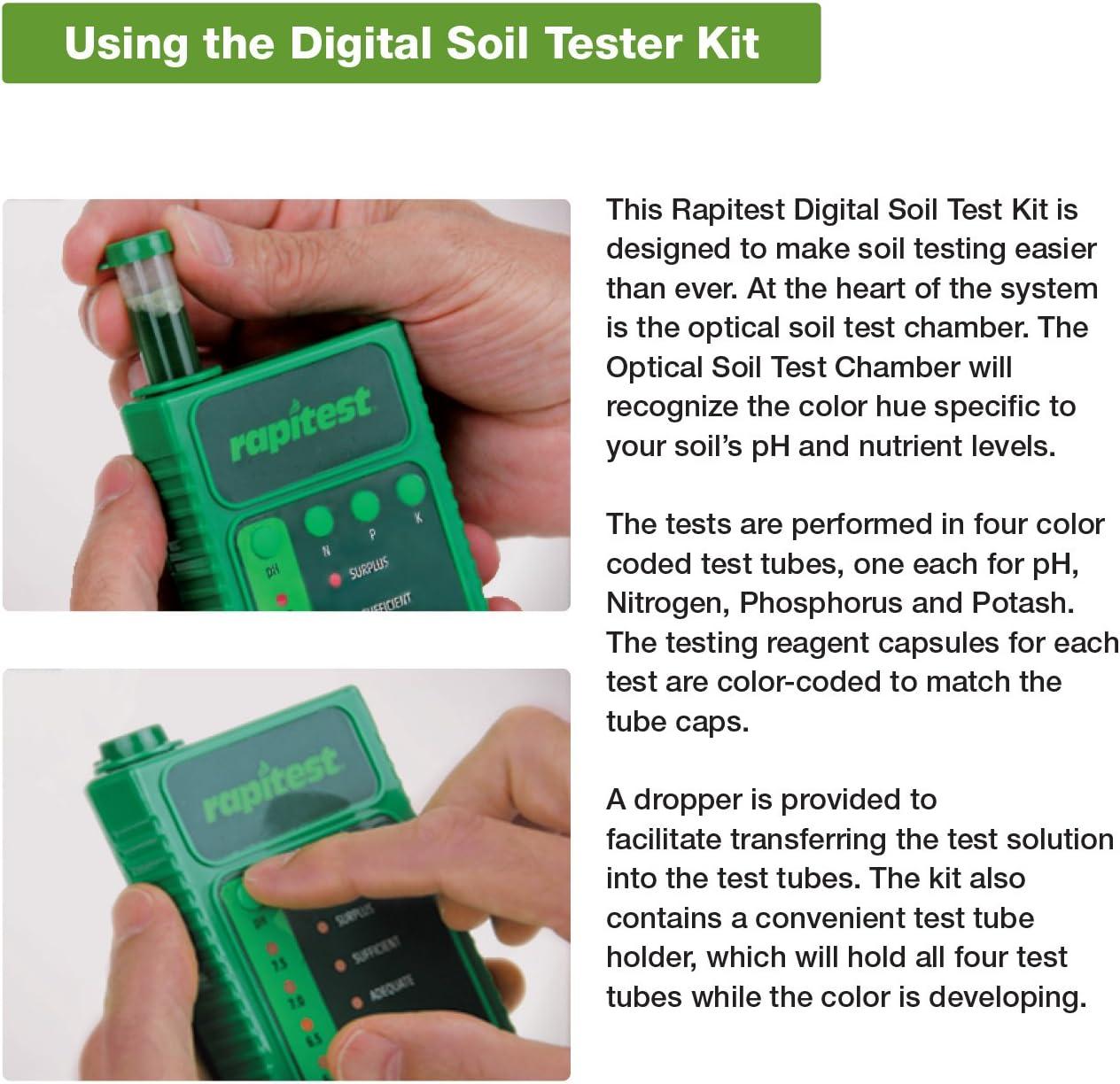 Lustre Feuille Rapitest Soil kit de Test Kit Complet pour Tester Les sols 1