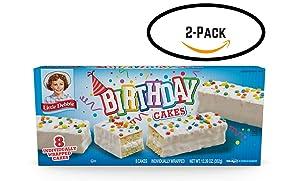 Little Debbie Birthday Cakes (2 boxes)