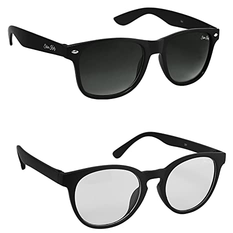 bc119e683ab Silver Kartz UV Protected Round Men s Sunglasses(cm201