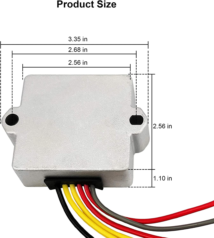 Rectifiers 6 WIRE Voltage Regulator Rectifier 12 Volt for Mercury ...