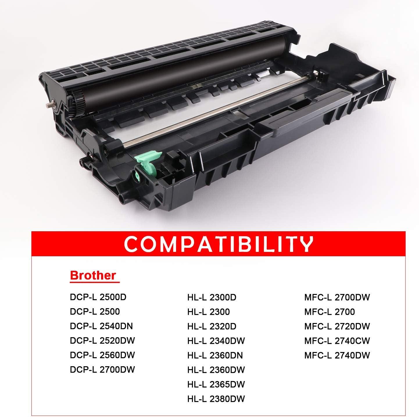 DR2300 Tambor Compatible con Brother Tambor DR 2300 para Impresora ...