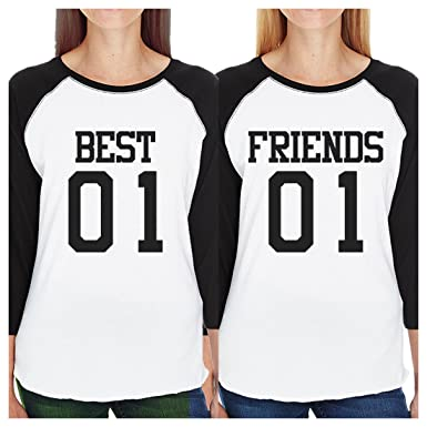 buy popular 73a79 6a373 Amazon.com: 365 Printing Best01 Friends02 Best Friend ...