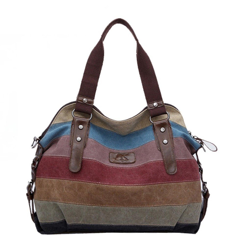 DVANIS Women Handbag Women Bag Shoulder Bag Zip Closure Tote Vintage Bag PU Leather GP119