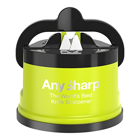 AnySharp Pro Knife Sharpener, Metal, Citrus Zest