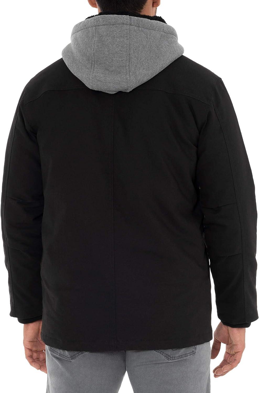 Dickies Black Relaxed Fit Canvas Shirt Jacket 71fDwyIR9DL