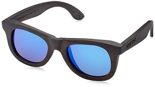HÄRVIST Waywood, Occhiali da Sole Unisex-Adulto, Multicolore (Ébano / Azul), Talla Única