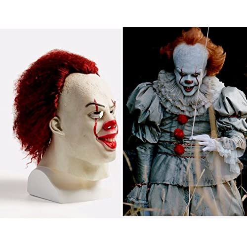 asvp shop pennywise it clown 2017 real life mask stephen kings fancy costume halloween