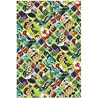 Comogiochi - Mantel de Papel 120 x 180 cm Ben 10, Multicolor, 5CG82044
