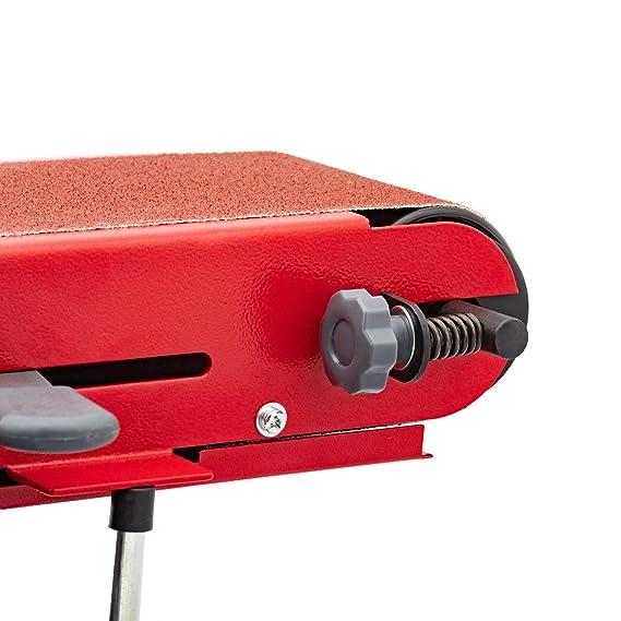 Berlan Bandschleifer /& Tellerschleifer Bandschleifmaschine Schleifmaschine 350 Watt BBTS350