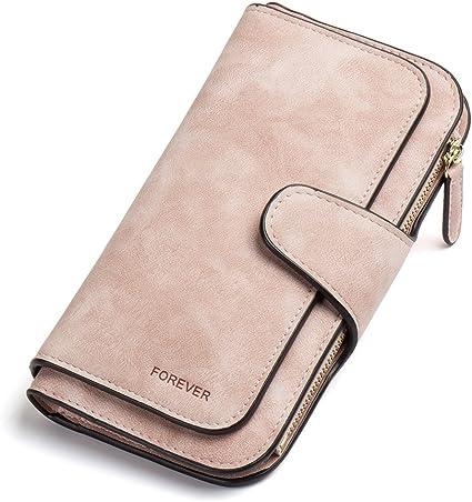 Damen Geldbörse Gross Geldbeutel Brieftasche Portemonnaie Clutch Wallet Luxus