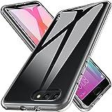 LK Cover per Huawei Honor View 10 Custodia, Case in Morbido Silicone di Gel AntiGraffio in TPU Ultra [Slim Thin] Protettiva - Trasparente